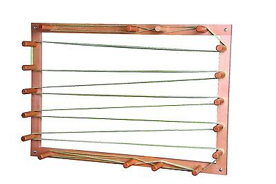 Ashford Warping Frame 11 Metres (37') Warp for Winding Yarn to Weave WF11