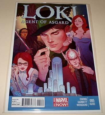 LOKI : Agent of Asgard # 5  Marvel Comic  Sept 2014   NM  2nd PRINTING VARIANT
