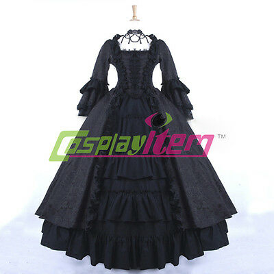 18th Century Ball Gown Medieval Renaissance Victorian Civil War Dress Costume