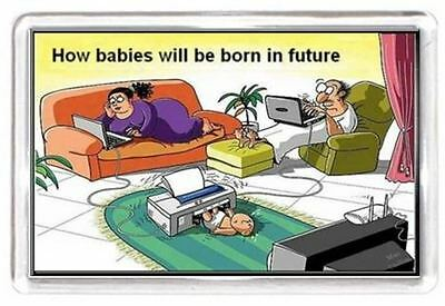 Future Child Baby Birth Computer Laptop PC Print Quotes Saying Gift Present Nove