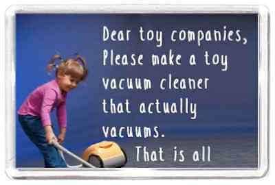 Toy Game Vacuum Hoover Children Kid Ask Works Quotes Saying Gift Present Novelty