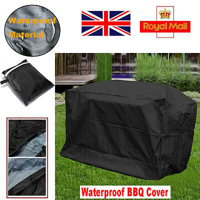 UK Large Heavy duty BBQ Cover Waterproof Rain Snow Barbeque Grill Protector