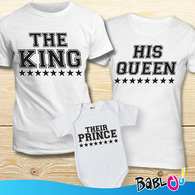 "Coppia Di Maglie e Bodino ""The King His Queen Their Prince"""