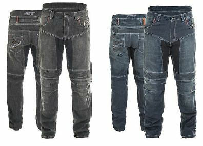 RST Mens Aramid Technical Denim Motorcycle Trousers Jeans Blue Ce Armour 2210