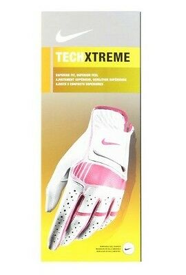 New Nike Techxtreme Women's Golf Glove Left Hand Tech Xtreme Extreme M & L