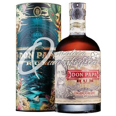 DON PAPA RUM AGED IN OAK PHILIPPINES rhum  7 jaar 70CL 40%VOL
