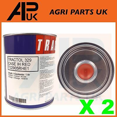 2Ltr Case International IH Tractor Red Paint Tractol Machinery Agricultural NEW