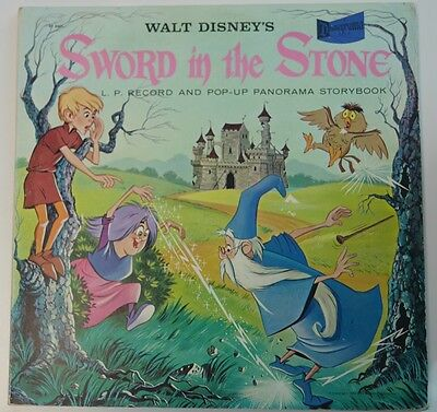 "Disney Record Walt Disney's ""Sword In The Stone"" ST-4901 - Excellent Condition"