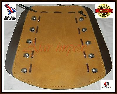 Leather Arm Bracer / Guard Top Quality Archery Hunting Arm Guards Sued Leather
