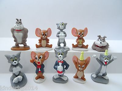 Collectible Complete Set figures  TOM & JERRY Zaini