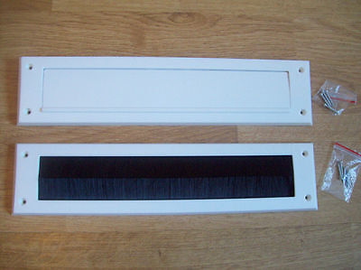 Letter box Internal Cover brush Seal Draught Excluder letterbox 2 options