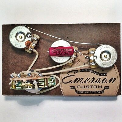 New Guitar Parts Strat Pre-Wired Assembly - Emerson USA
