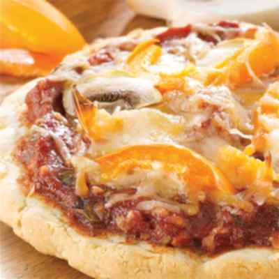 LOW CARB!! Ideal Protein Compatible-  Pizza with Tomato Sauce (7/Box)