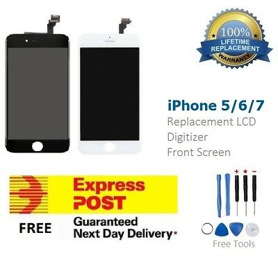 For iPhone 6 LCD Replacement Touch Screen Digitizer Assembly Planel Black White
