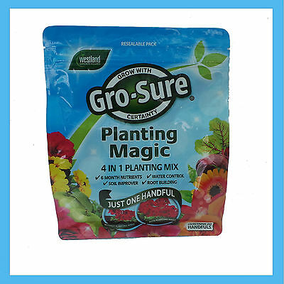 Westland Gro-Sure Planting Magic 4 in 1 Planting Mix 700g For Healthier Plants