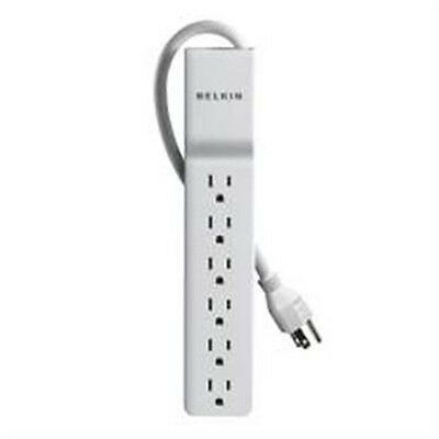 BELKIN 6-Outlet Home/Office Surge Protector 2.5ft 2-line AC protection 555J