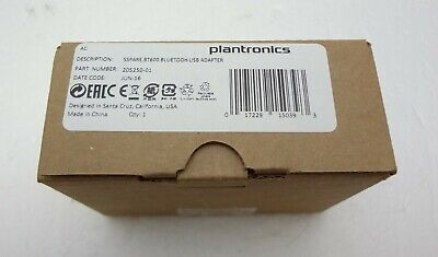 PLANTRONICS BT600 HIGH-FIDELITY Bluetooth USB Adapter 205250-01 for Voyager  5200