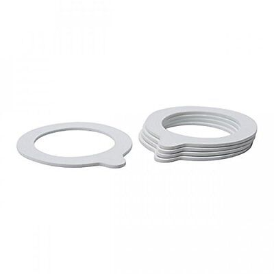 JAR RUBBER SEAL RINGS 92/68mm (10pcs) - WHITE Jar Replacement Seals for Preserve
