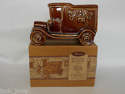 Wade's Collectable Thorntons Delivery Van Money Box With Box (C)
