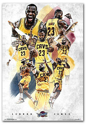 "Cleveland Cavaliers LeBron James Superstar NBA Fridge Magnet 2.5"" x 3.5"""