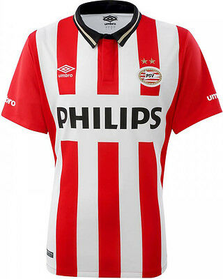 New Genuine PSV Eindhoven 2015/16 Home Shirt Junior XS 5-6  Very Minor Reject