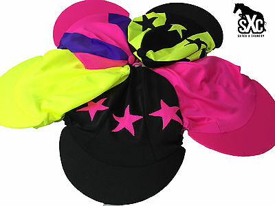 Fluorescent Hat Silk Cover Design Your Own Custom Stars Cross Country Sxc