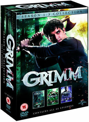 GRIMM Complete Season Series 1 2 & 3 Collection Boxset 1-3 NEW DVD R4