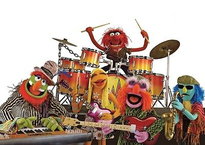 Animal the Muppets Band Great Poster