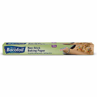 Baco Bacofoil Non Stick Oven Baking Tray Greaseproof  Parchment Paper Roll