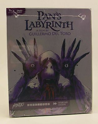 STEELBOOK Mondo PAN'S LABYRINTH New Blu-Ray Region A