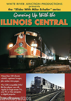 Growing Up With Illinois Central photo CD by Mike Schafer