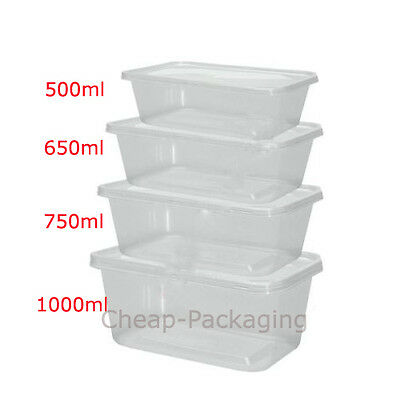 Clear Plastic Microwave Safe Food Containers With Lids