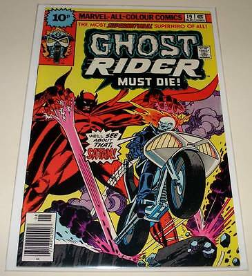 GHOST RIDER (Vol. 1) # 19  Marvel Comic   Aug 1976   FN
