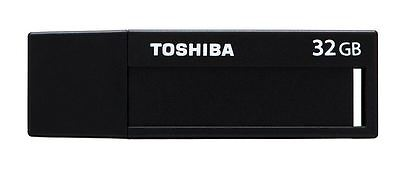 Toshiba 32GB USB 3.0 Flash Drive Memory Pen U302 - Black