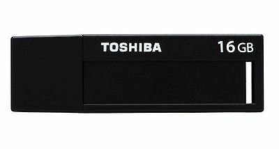 Toshiba 16GB USB 3.0 Flash Drive Memory Pen U302 - Black