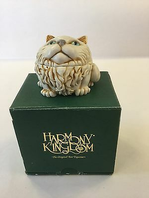 Harmony Kingdom Fat Cat's Meow TJMINEVE2 - Cat Box Ornament/Collectable