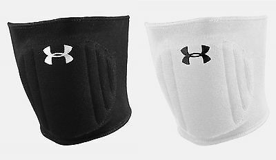 Under Armour UA Volleyball Knee Pads - One Pair White or Black S/M, L/XL 1218126