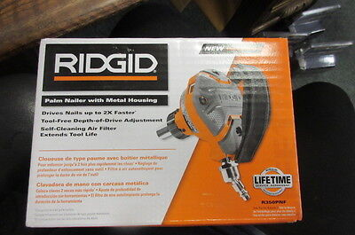 Ridgid Palm Nailer R350Pnf With Metal Housing New In Box