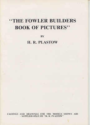 The Fowler Builders Book of Pictures by HR Plastow