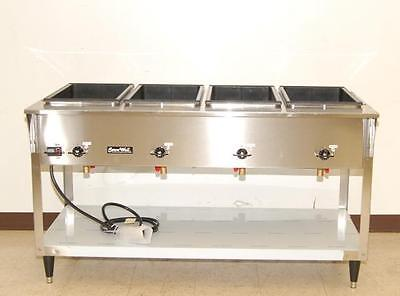 Vollrath ServeWell 4-Bay Electric Steam Table NEW 38218