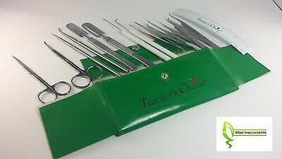 Dissecting Micro Dissection Kit Set Bio Student Lab Tool Teacher's Choice