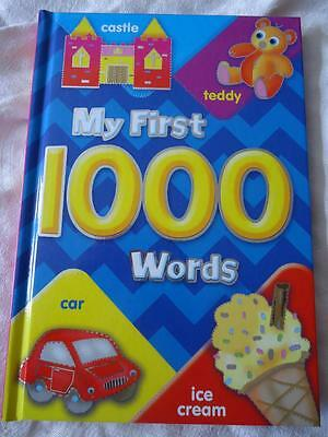 My First 1000 Words - Children's Hardback Book - High Quality - Brand New