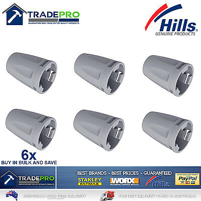 Hills Clothes Line Tie Off Caps 6pc Folding Frame Clothesline Spare Parts 6 pack