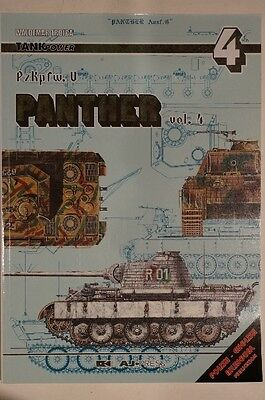 WW2 German Panther Tank PzKpfw 5 Vol 4 Reference Book
