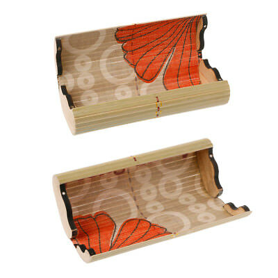 Handmade Vintage Men Women Bamboo Wooden Sunglasses Box Frame Glasses Case New