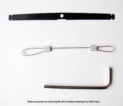 Steel arrow and Copper arrow - Only Use for Mini Crossbow Shooting Toy #2014