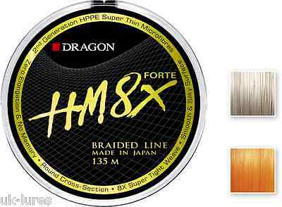 Lure Fishing Braid Dragon HM8X Forte 8 strand Toray MADE IN JAPAN Extra smooth