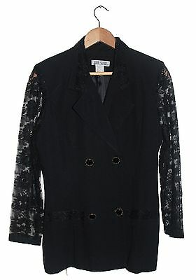 Julie Slade Women's Black Jacket Size 10