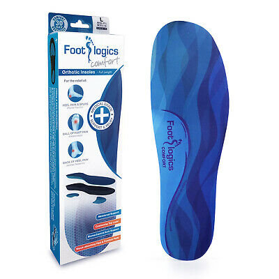 Footlogics Comfort - Orthotic insoles for heel pain, heel spurs or foot pain