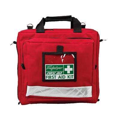 Portable Soft Case National Workplace First Aid Kit by Trafalgar